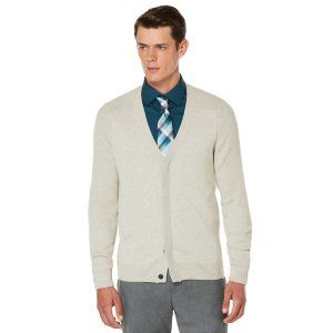 Concealed Placket Cardigan