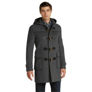 1905 Collection Tailored Fit 3/4 Length Duffle Coat CLEARANCE