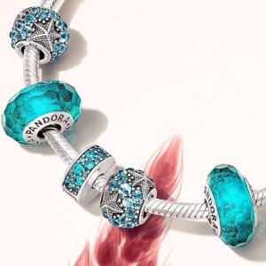 Free Up to $75 Value Ring, Earring or Leather Braceletwith Your $100 Pandora Purchase @ Pandora