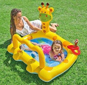 Intex Smiley Giraffe Inflatable Baby Pool, 44