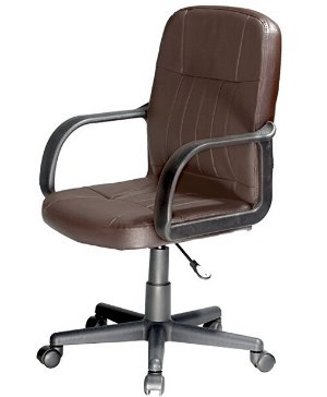 $38.02Comfort Products 60-5607M08 Mid-Back Leather Office Chair