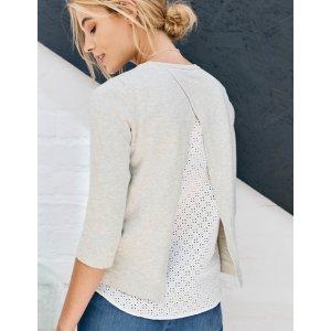 Margot Woven Mix Sweater