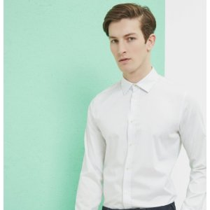 RAABIN Satin stretch shirt