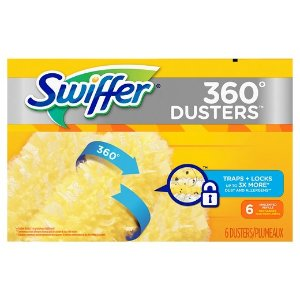 Swiffer Duster Refills 360, Unscented, 6ct : Target