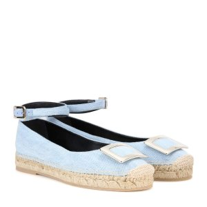 Roger Vivier - mytheresa.com exclusive Embellished fabric sandals