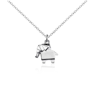 Lucky Elephant Pendant in Sterling Silver | Blue Nile