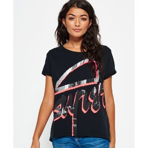 Superdry Downtown 45 Degrees Boyfriend T-shirt
