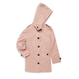 Toddler's, Little Girl's & Girl's Geri Rain Coat