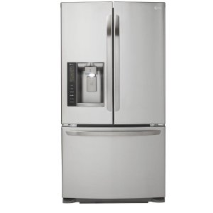 LG Electronics 24.1 cu. ft. French Door Refrigerator in Stainless Steel, Dual Ice Maker-LFX25973ST - The Home Depot