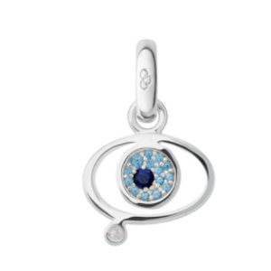 Evil Eye Charm Sapphire Blue Topaz | Women Charms, Official Links of London