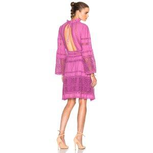 Sea Baja Lace Long Sleeve Dress