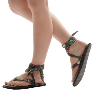 Sanuk Yoga Slinged Up Prints Sandals