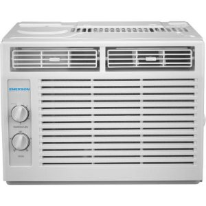 Emerson Quiet Kool 5000 BTU 115V Window Air Conditioner with Mechanical Rotary Controls - JCPenney