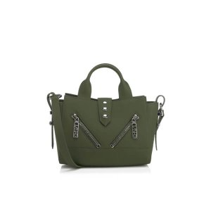 KENZO Women's Kalifornia Mini Tote Bag - Light Khaki - Free UK Delivery over £50