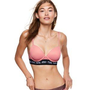 Wear Everywhere Push-Up Wireless Bra - PINK - Victoria's Secret
