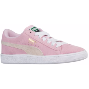 PUMA Suede Classic - Girls' Grade School - Basketball - Shoes - Pink Lady/White/Team Gold