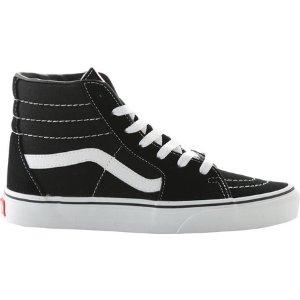 Vans Sk8-Hi Top Sneaker - Black/Black/White - FREE Shipping & Exchanges