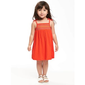 Smocked Swing Dress for Toddler Girls | Old Navy