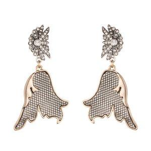 Lulu Frost | Nightshade drop earring