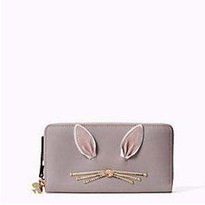 可爱小白兔钱包