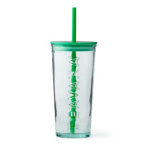 Green Glass Cold Cup | Teavana