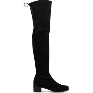 STUART WEITZMAN - Midland suede over-the-knee boots