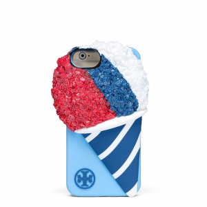 Tory Burch Snow Cone Silicone Case For Iphone 7
