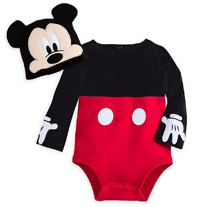 Mickey Mouse Costume Bodysuit Set for Baby - Personalizable | Disney Store