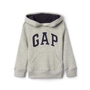 Logo hoodie pullover