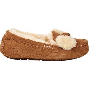 UGG Ansley Fur Bow Loafer
