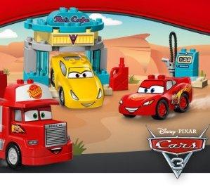 Gift with $35+ PurchaseNew! Disney Pixar Cars 3 Duplo Sets @ LEGO
