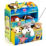 Delta Children Multi-Bin Toy Organizer, Nickelodeon SpongeBob SquarePants