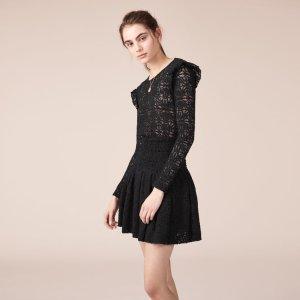 RYLIE Short lace dress - Dresses - Maje.com