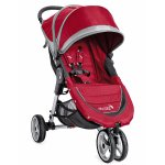 Baby Jogger 2016 City Mini 3W Single Stroller - Crimson/Gray