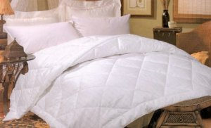 As Low As $71.98Silk-filled Damask Stripe 260 Thread Count Comforter