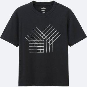 MEN SPRZ NY Super Geometric GRAPHIC T-SHIRT (FRANCOIS MORELLET)