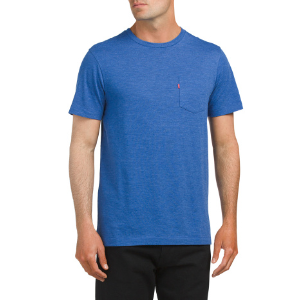 Short Sleeve Crew Neck Pocket Tee