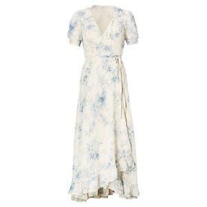 Floral-Print Gauze Wrap Dress - Maxi � Dresses - RalphLauren.com