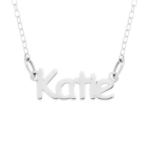 Dealmoon Exclusive! $24.99+Free ShippingPersonalized Name Necklace in Sterling Silver - 16