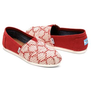 Red Woven Women's Classics