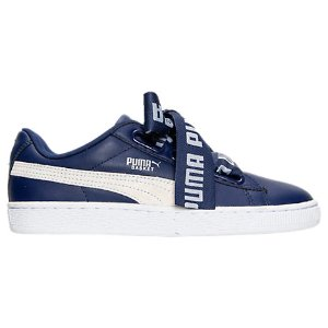 Women's Puma Basket Heart DE Casual Shoes