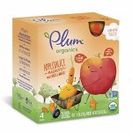 Plum Kids Organic Fruit and Veggie Mashups, Carroty Chop, 3.17 Ounce, 4 Count (Pack of 6)