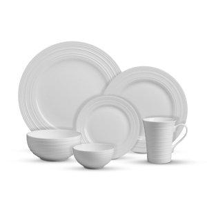 Mikasa® Swirl Bone 36 Piece Dinnerware Set