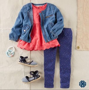 Up To 70% Off + Extra 25% Off $40Kids Apparel Secret Sale @ OshKosh BGosh