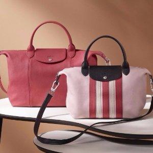 最高减$50 变相7.5折  高圆圆小羊皮包Longchamp 珑骧包包热卖 经典款,超实用
