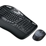 Logitech MK570 Comfort Wave Wireless Keyboard and Mouse