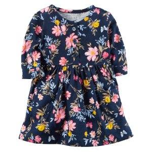 Carter's Infant Girls' Dress - Floral - Clothing - Baby Clothing - Baby Dresswear
