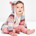 Stripe bear garter sweater On Sale @ GAP