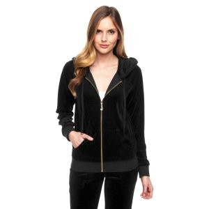 J Bling Relaxed Velour Jacket | Juicy Couture