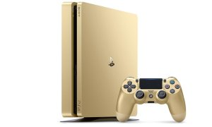 Sony PlayStation 4 Slim 1TB Golden Limited Edition